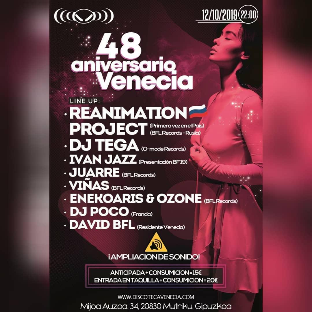Imagen representativa de 48 Aniversario Venecia
