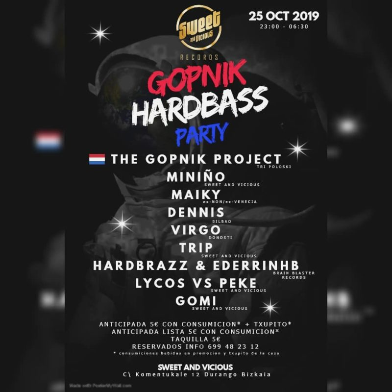Gopnik Hardbass Project en Sweet & Vicious