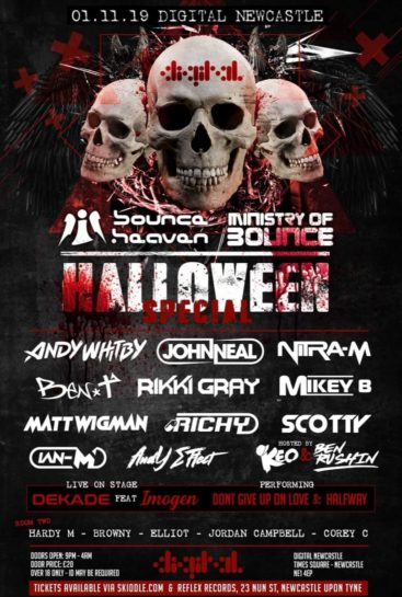 Halloween Special en Digital Newcastle
