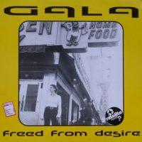 Portada del temazo Gala – Freed From Desire