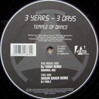 Imagen representativa del temazo 3 Year 3 Days – Temple Of Dance (Dj Shah Remix)