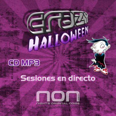 Crazy Halloween 2010 Portada CD