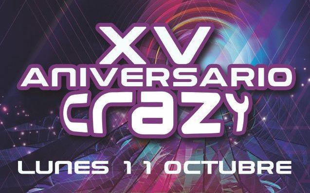 Flyer XV Aniversario Crazy edited